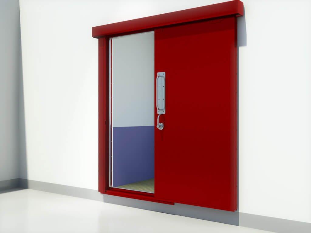A60 sliding door