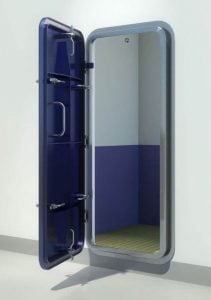 6 clip weathertight door